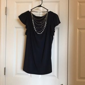 Navy Top -like new! From the Limited